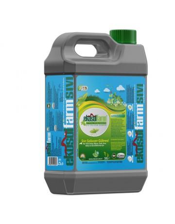 EkosolFarm Sıvı Solucan Gübresi 5 Litre Liquid Worm Fertilizer
