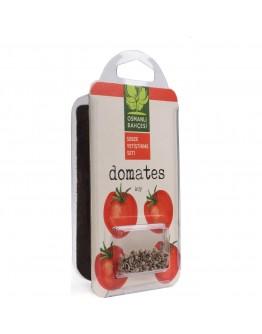 Osmanlı Bahçesi Köy Domates + Tatlı Kıl Biber + Patlıcan Tohumu + Organik Solucan Gübresi