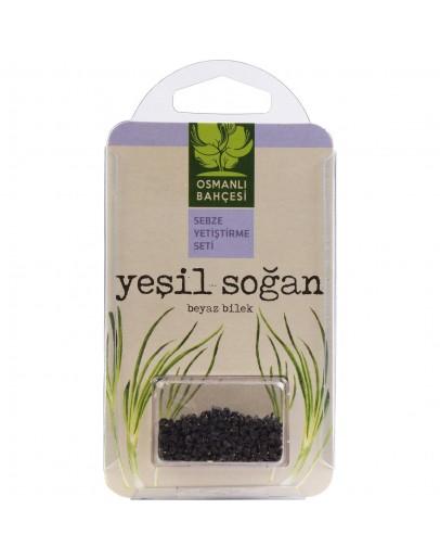 Osmanlı Bahçesi Yeşil Soğan Tohumu + Organik Solucan Gübresi